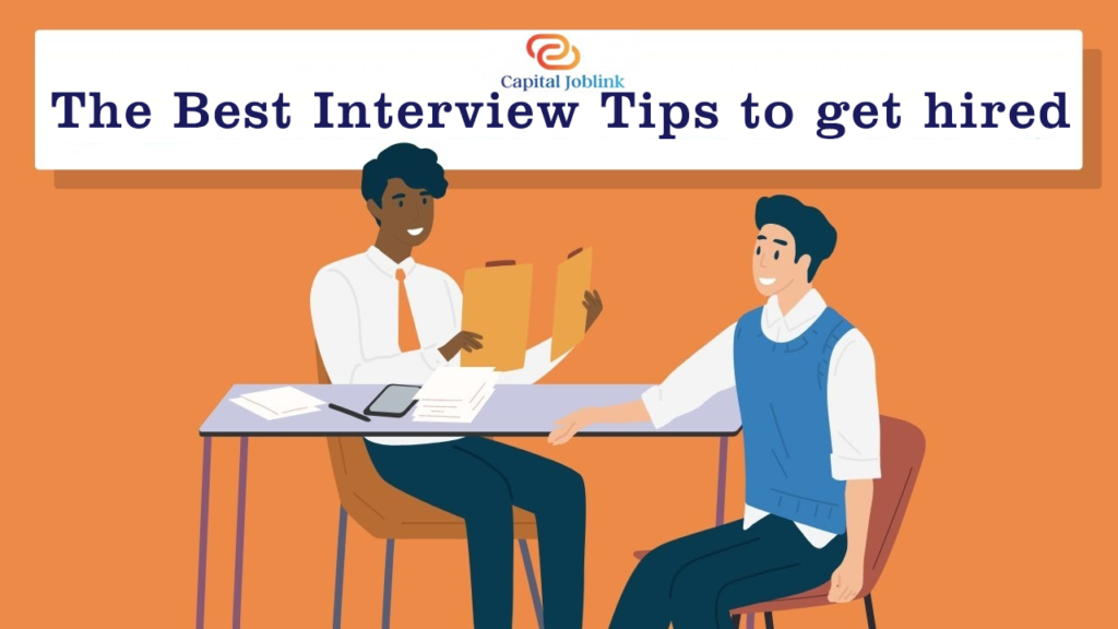 The Best Interview Tips to get hired